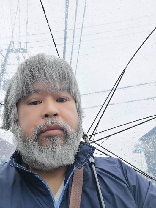 昨日の雨降りの僕ちゃん