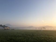 20190909 早朝のレイクヴィラファームin雲海 その2^^)