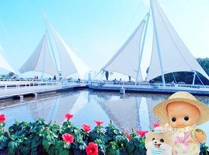 葛西臨海水族園のお庭 2019