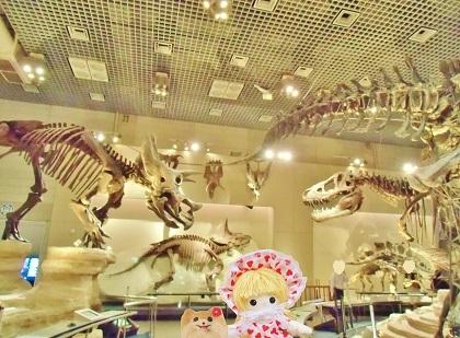 地球館の恐竜達 2019