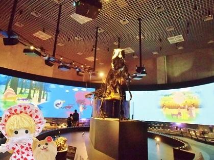 地球館 アロサウルス