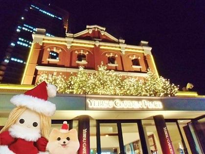 恵比寿ガーデンプレイス クリスマス 2019です