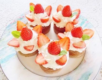 バレンタインケーキ 2020