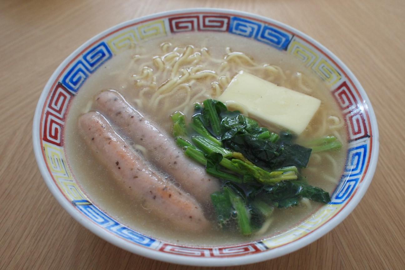 マルちゃん正麺塩味!