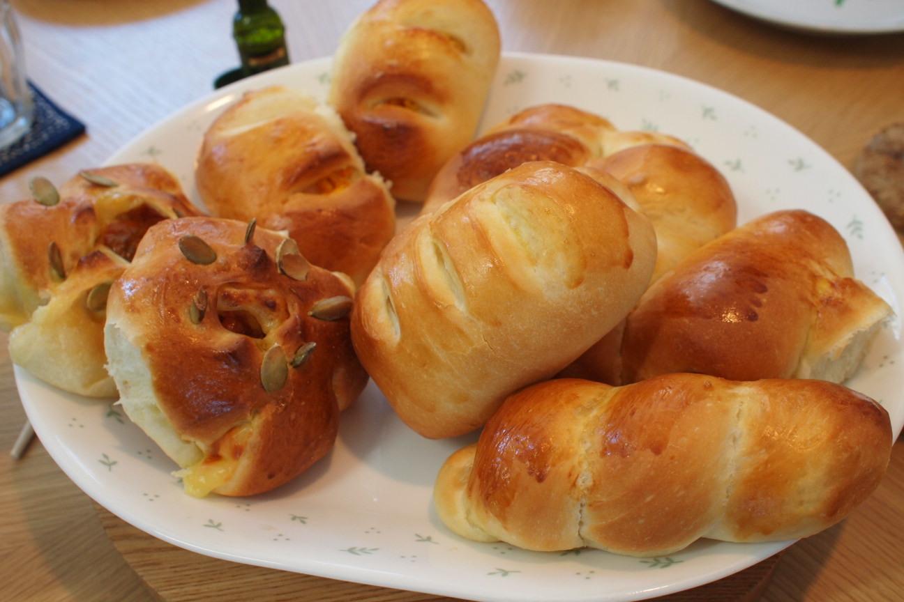自家製パン!