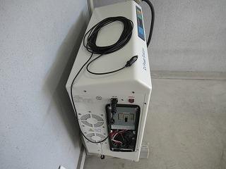 ⑦停電時12V供給ケーブル
