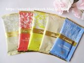 汗ポタポタ、保湿力の高い温活入浴剤【ミネラルバスパウダー アロマコレクションアソートお試し5包セット】効果・口コミ。
