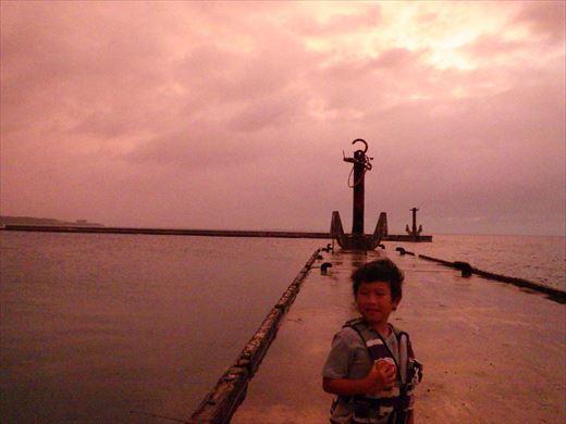 もとぶ元気村で釣り (16)