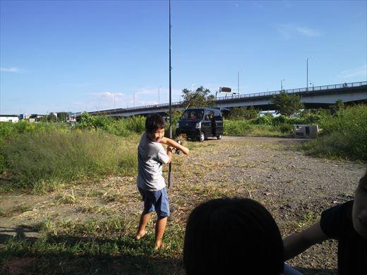 中川で釣る (8)