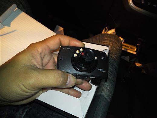 ドライブレコーダー取り付け (3)