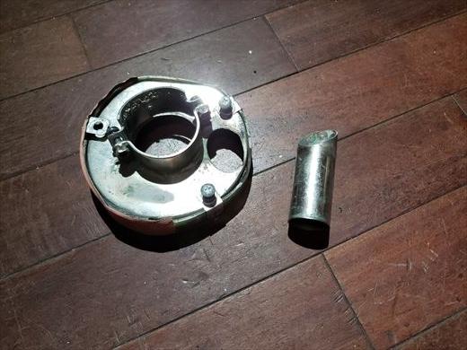 集塵カップ修理 (1)