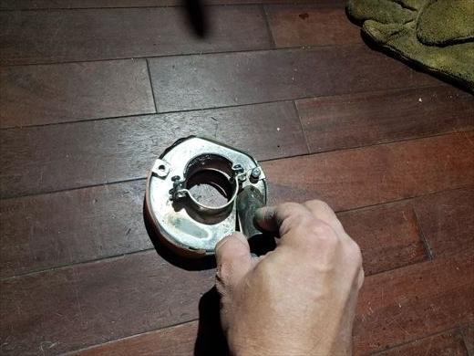 集塵カップ修理 (2)