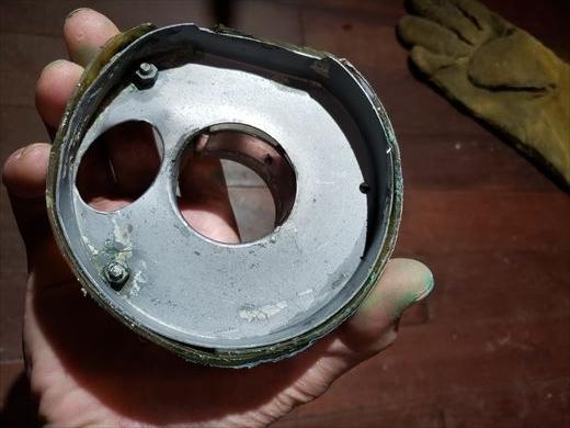 集塵カップ修理 (3)