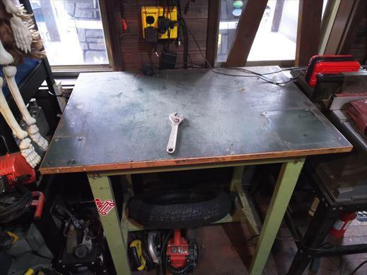 作業台天板変更 (2)