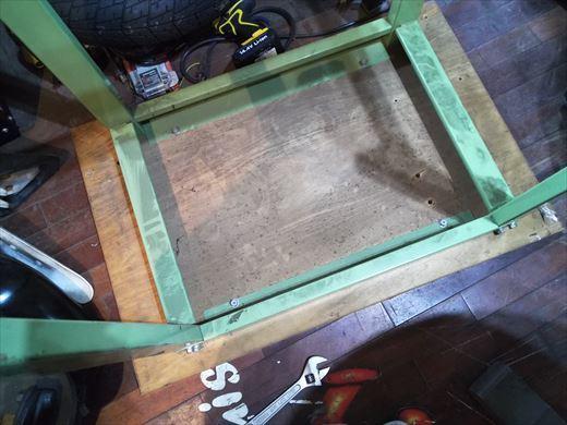 作業台天板変更 (3)