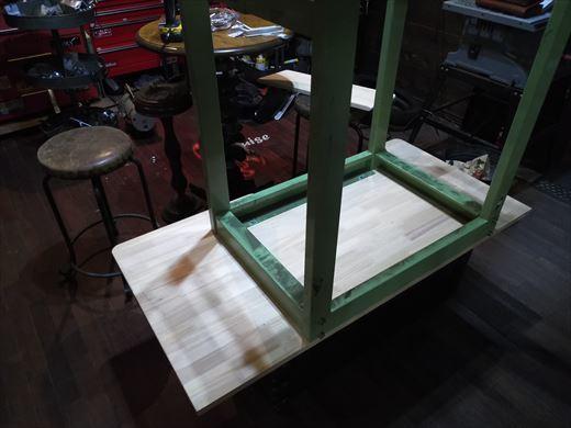 作業台天板変更 (10)
