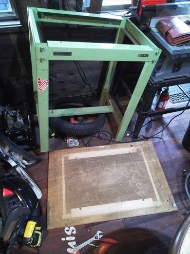 作業台天板変更 (4)