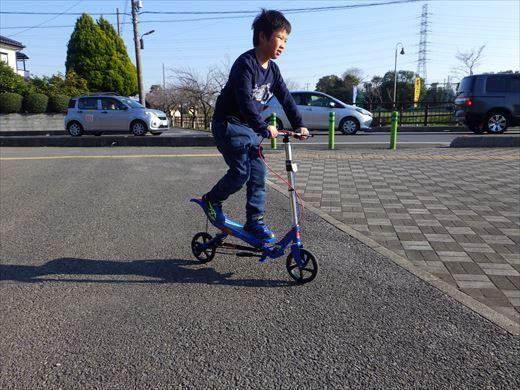 スペーススケーターに乗ってみる (4)