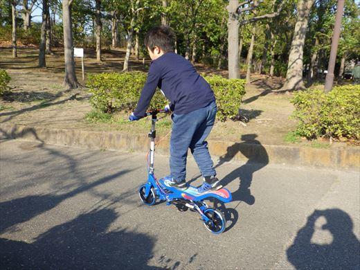スペーススケーターに乗ってみる (5)