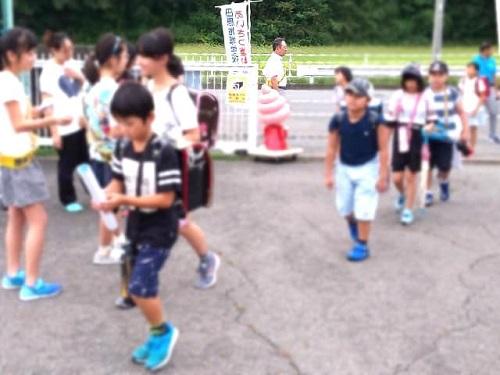 【田原西小学校<あいさつ運動>へ!】③