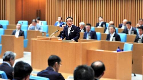 栃木県議会<第358回 通常会議>本会議 代表質問 に登壇!①