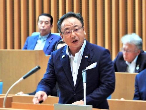 栃木県議会<第358回 通常会議>本会議 代表質問 に登壇!②