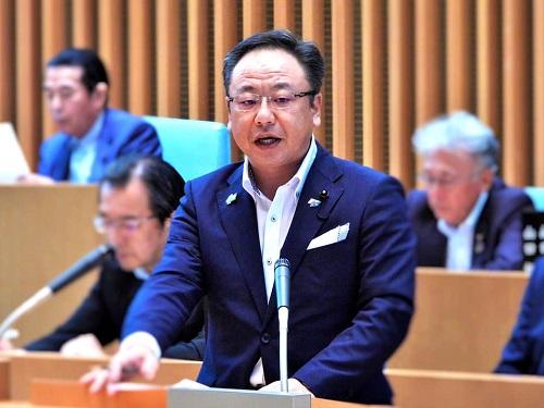 栃木県議会<第358回 通常会議>本会議 代表質問 に登壇!④