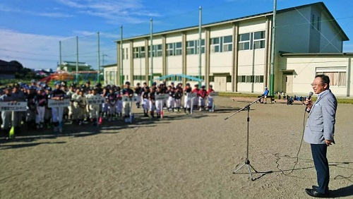 宇都宮西部地区学童野球交流会<第70回 親善大会>開会式①