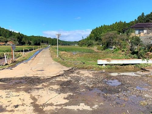 台風19号による被害状況 調査 13日①