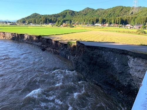 台風19号による被害状況 調査 13日⑦