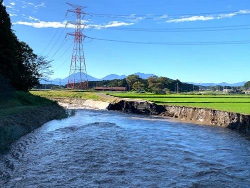 台風19号による被害状況 調査 13日⑧