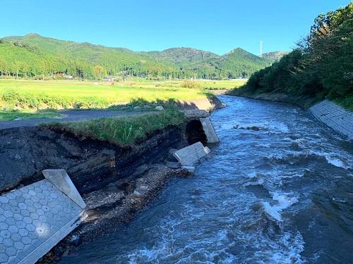 台風19号による被害状況 調査 13日⑩