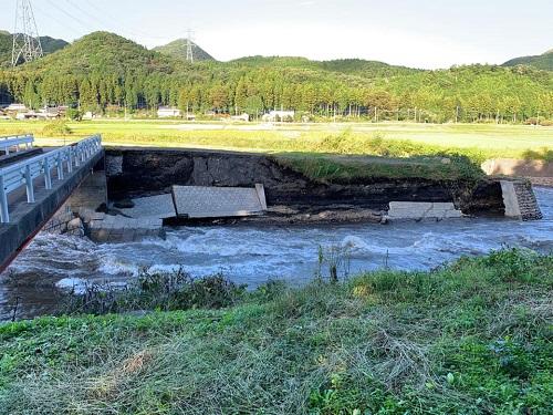 台風19号による被害状況 調査 13日⑪