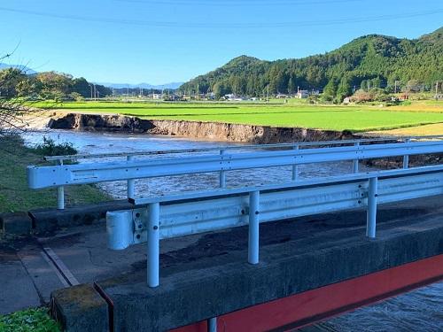 台風19号による被害状況 調査 13日⑫