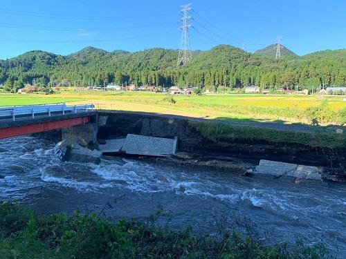 台風19号による被害状況 調査 13日⑬