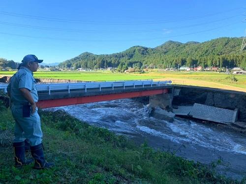台風19号による被害状況 調査 13日⑭