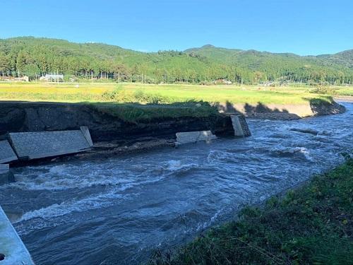 台風19号による被害状況 調査 13日⑮