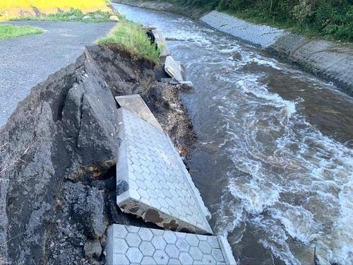 台風19号による被害状況 調査 13日⑯