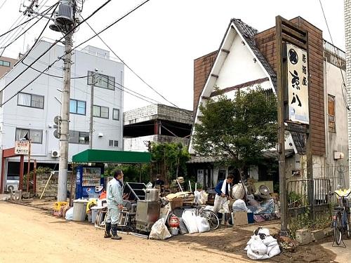 台風19号による被害状況 調査 14日①