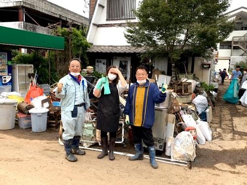 台風19号による被害状況 調査 14日②