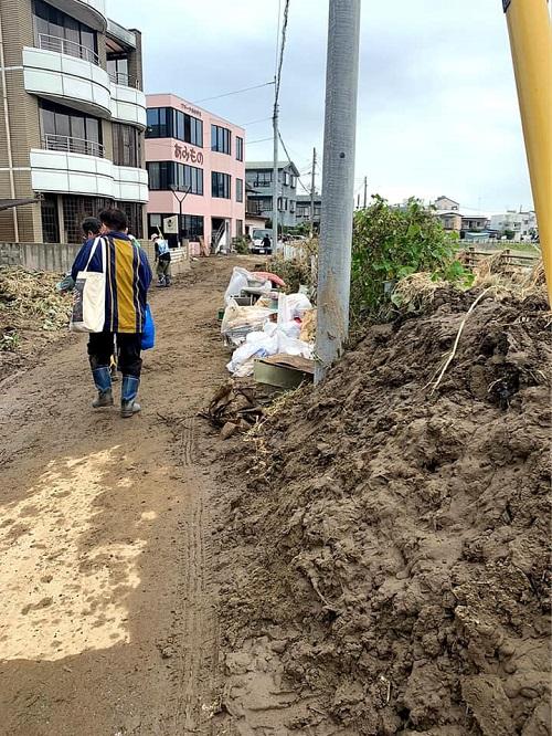 台風19号による被害状況 調査 14日④