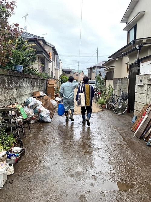 台風19号による被害状況 調査 14日⑤