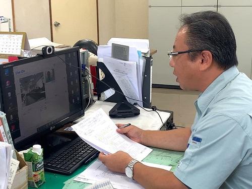 台風19号による被害状況 調査 15日①
