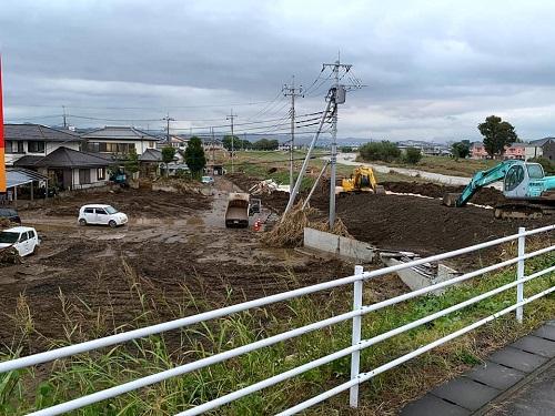 台風19号による被害状況 調査 15日②