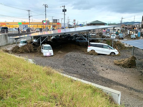 台風19号による被害状況 調査 15日③