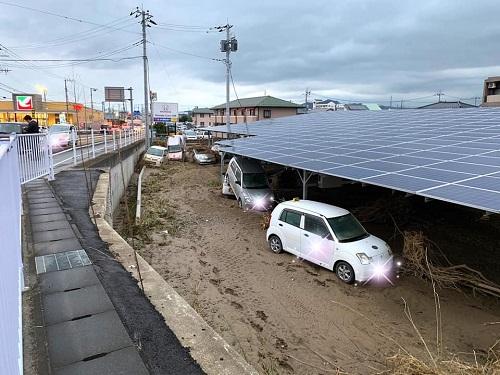台風19号による被害状況 調査 15日④