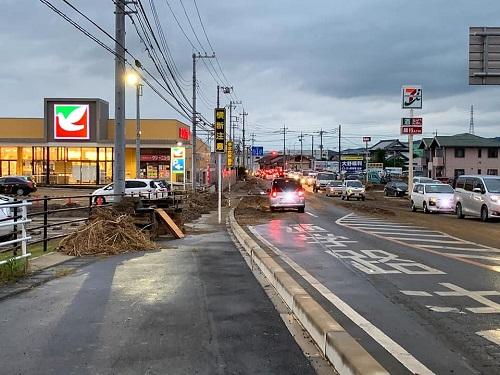 台風19号による被害状況 調査 15日⑤
