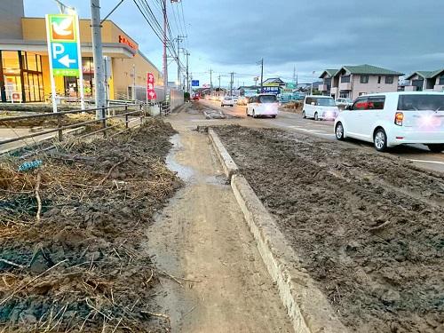 台風19号による被害状況 調査 15日⑦