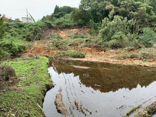台風19号による被害状況 調査 18日 宇都宮市⑥