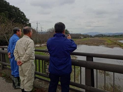 台風19号による被害状況 調査 18日 栃木市01